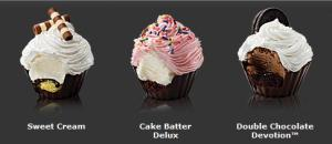 Cold Stone CupCakes